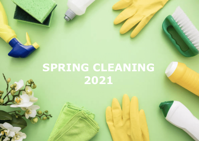 spring cleaning 2021